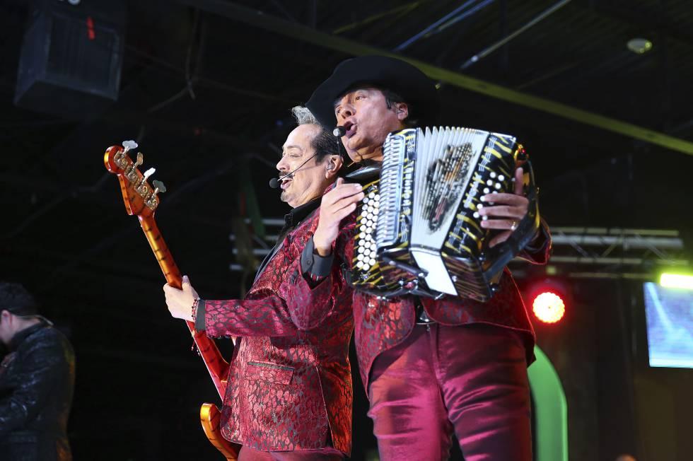 Banda mexicana Los Tigres del Norte.