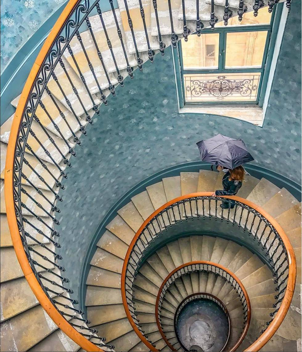 Viva la escalera de caracol icon el pa s - Escalera de caracol prefabricada ...