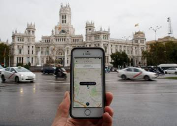 Taxi app Uber closes service in Spain in wake of judicial order