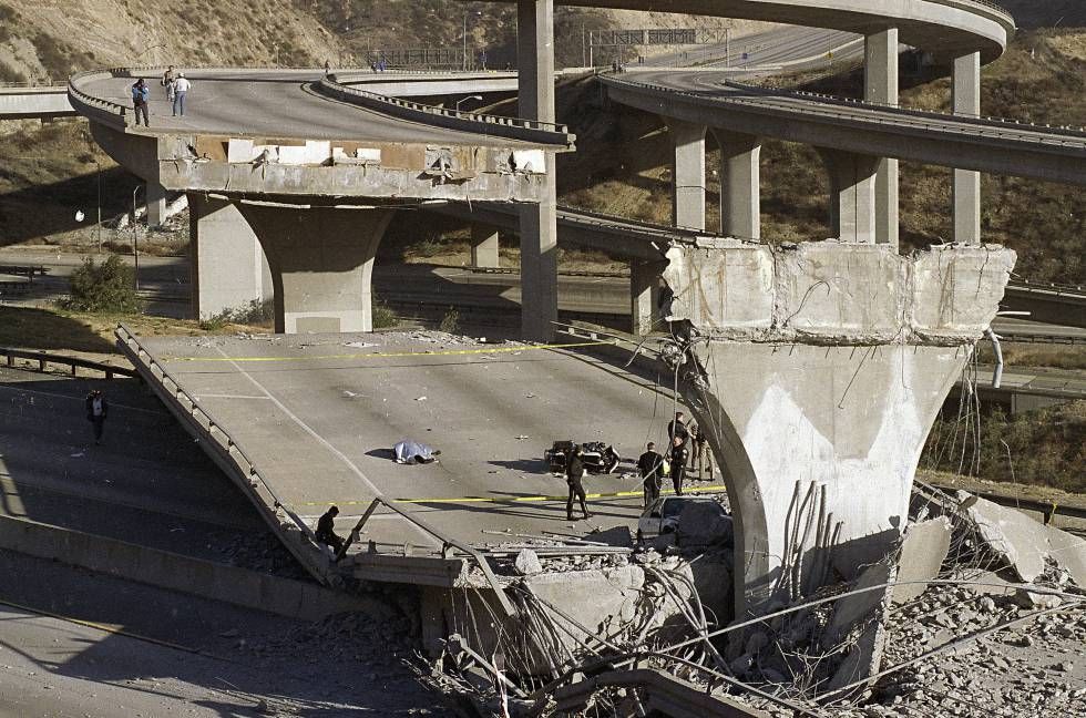Terremoto en Northridge, Los Angeles en 1994.