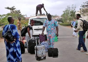 Una caravana africana de obras y escritores