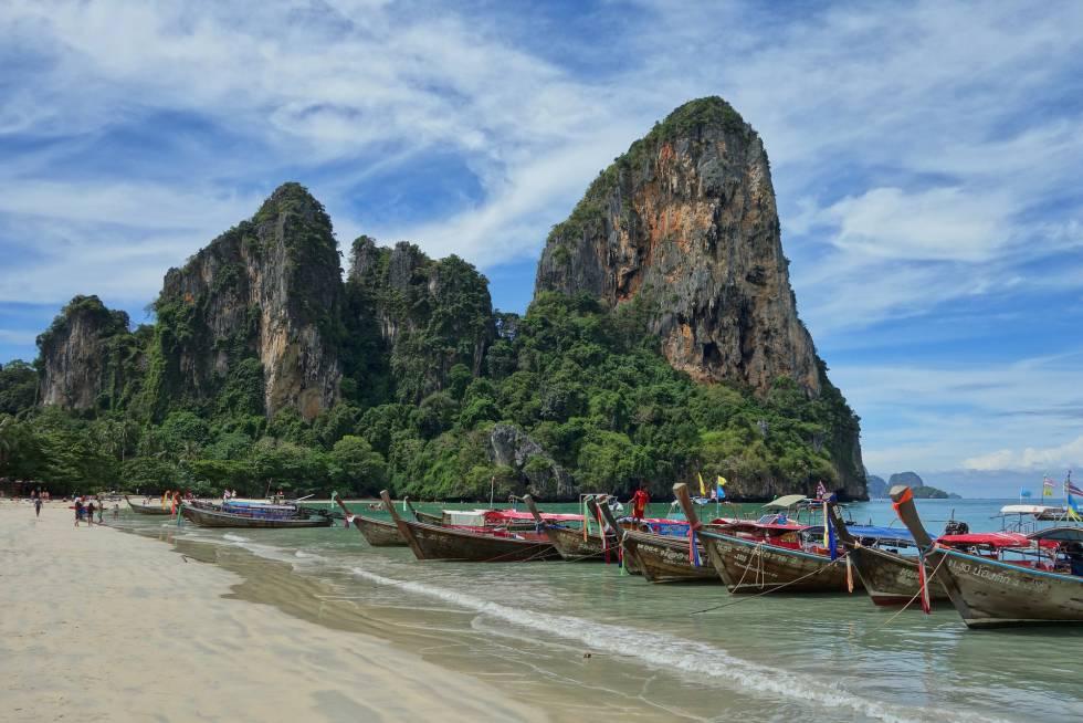Tailandia, uno de los principales receptores de turismo mochilero.