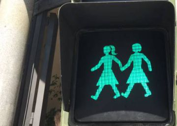 Ahead of Gay Pride, Madrid introduces same-sex traffic lights