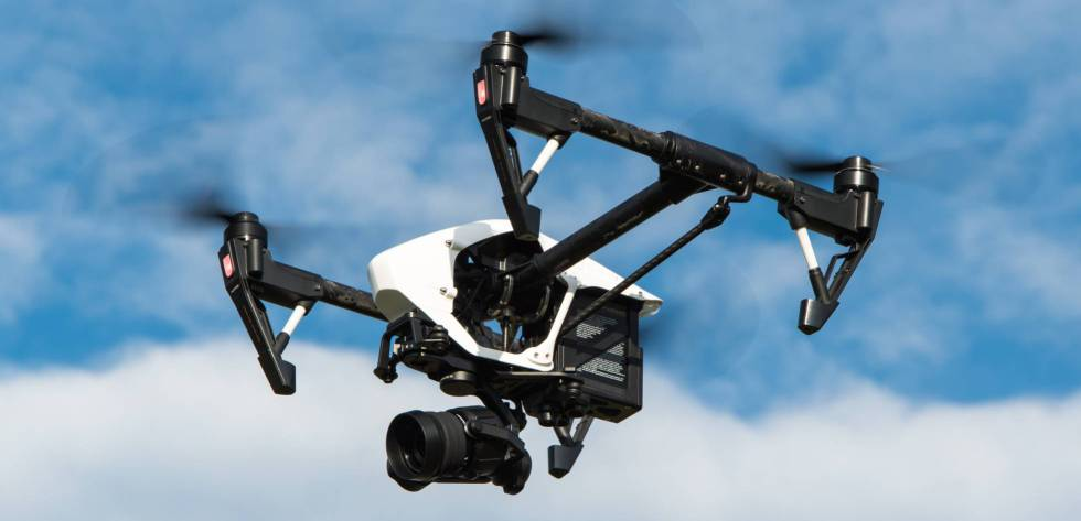 A Drone Equipped With Camera Professional Users In Spain Need License Before They