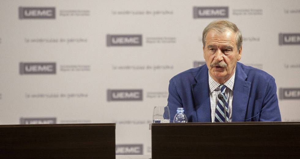 Former Mexican president Vicente Fox has found a new comedic talent.