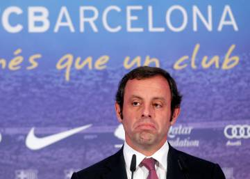 Former FC Barcelona president arrested in money laundering probe