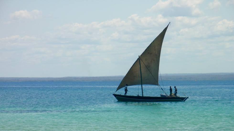 Pescadores en Pemba, Mozambique.