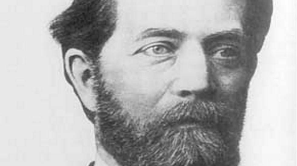 El matemático Félix Klein.