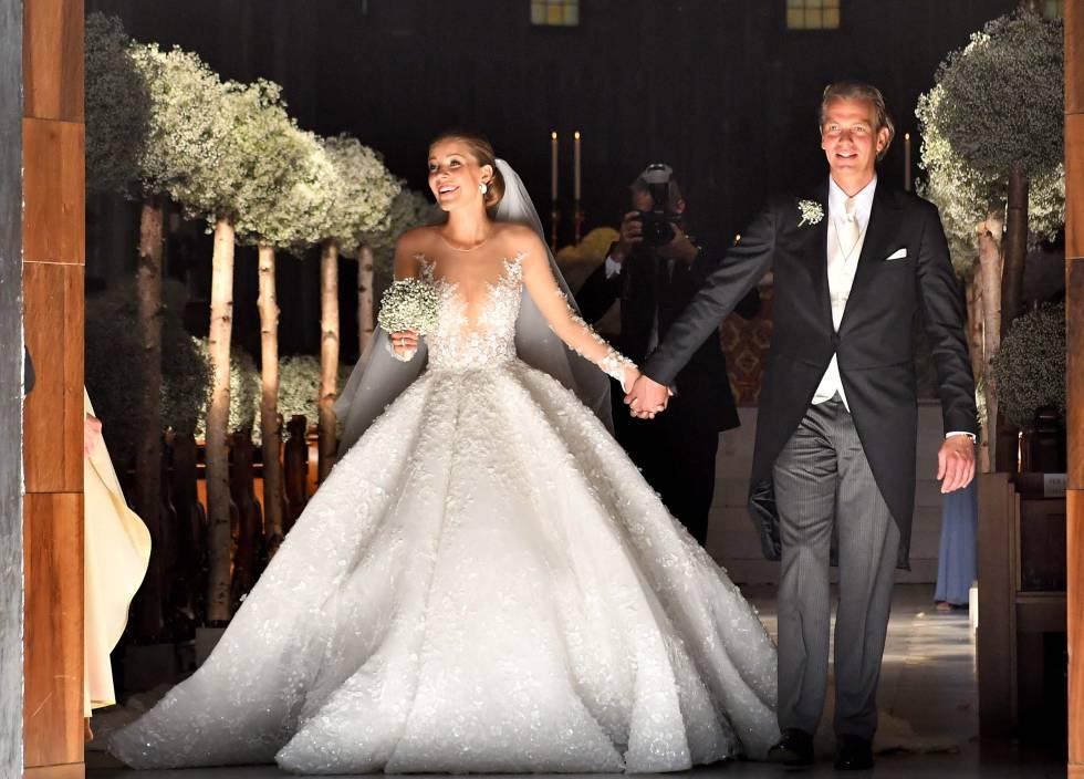 7894257fa Un vestido de novia de 800.000 euros para la heredera de Swarovski ...