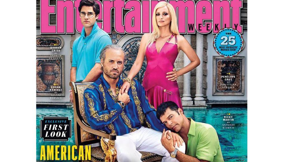 American Crime Story   Así aparecen Penélope Cruz y Ricky Martin en ... 5e029f28fd3e
