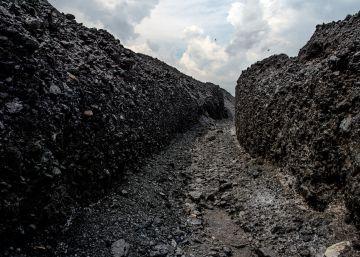 Agua contra carbón