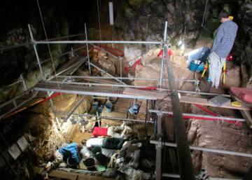 El único entierro de una mujer que vivió hace 19.000 años