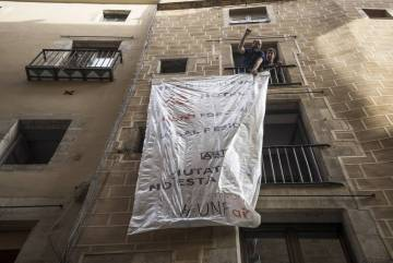 Barcelona has seen many protests over downtown vacation rentals.