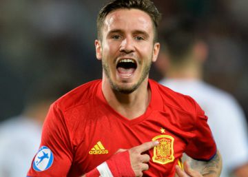 Saúl's hat-trick puts Spain's Under-21s into final of Euro Championships