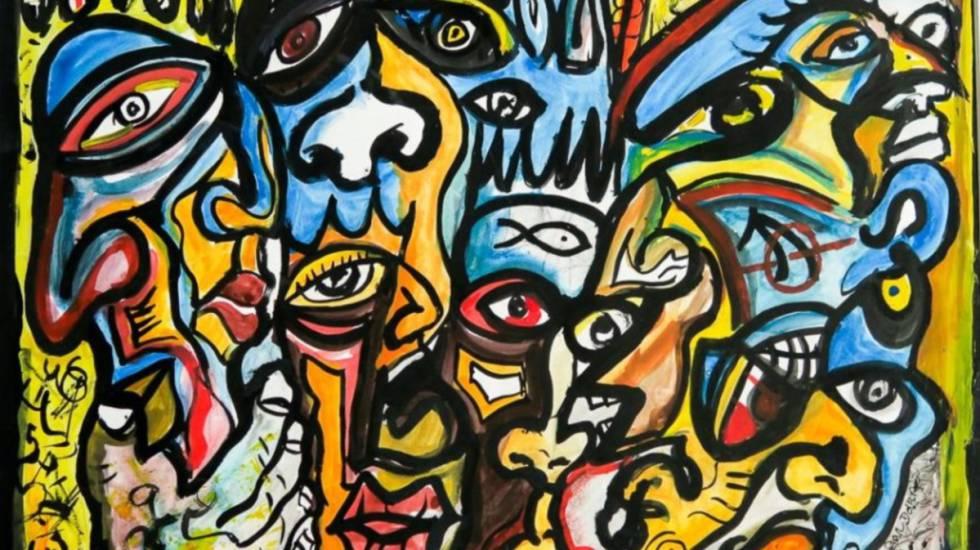 Obra 'Peixes', de Valdemar Doria (2014).