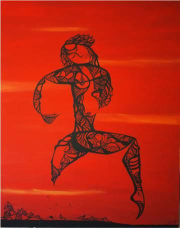 Obra 'A Bailarina', de Valdemar Doria.