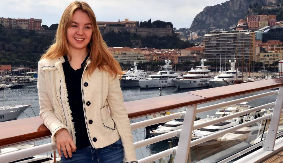 a4741c213244 Alexandra de Hannover, la más 'real' de todos los Grimaldi, se hace ...