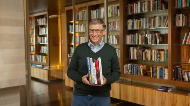 La biblioteca de Bill Gates