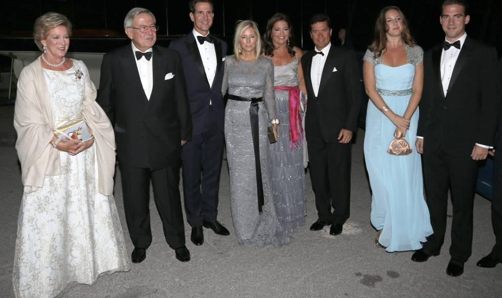 La gran familia griega de Felipe VI | Gente y Famosos | EL PAÍS