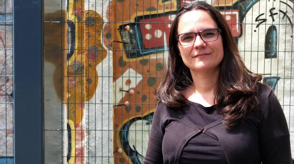 Aida Guillén, directora del Área de Derechos de Ciudadanía en el Ayuntamiento de Barcelona, en Madrid.