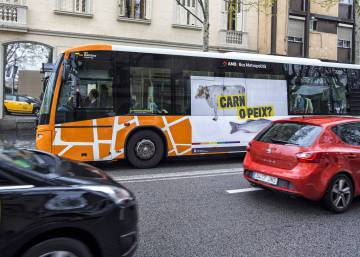 """Meat or fish?"" Barcelona bus raises issue of homophobia in Spain"
