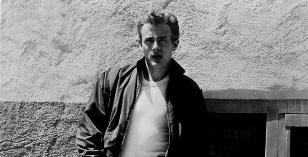 James Dean en 'Rebelde sin Causa'.