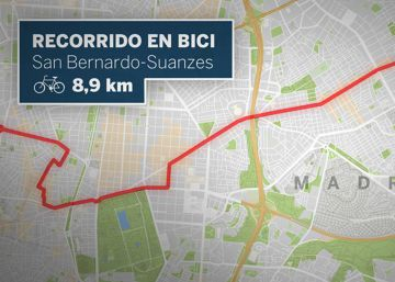 ¿Son seguros los carriles bici de Madrid?