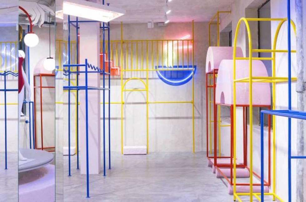 Interior de la nueva tienda de Kling en Lavapiés. Esta apertura ef912e2181e9d