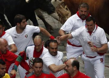 Fastest run of San Fermín 2017 at closing Running of the Bulls