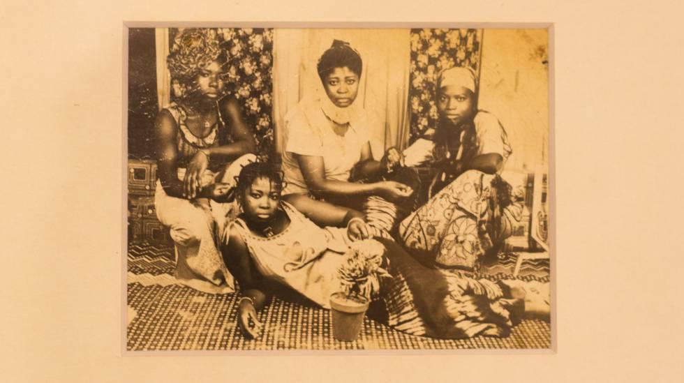 Imagen de Asso Bio en el Museo Africano de Lyon.