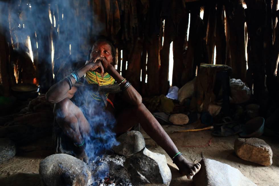 Anciana Muhila (Angola).