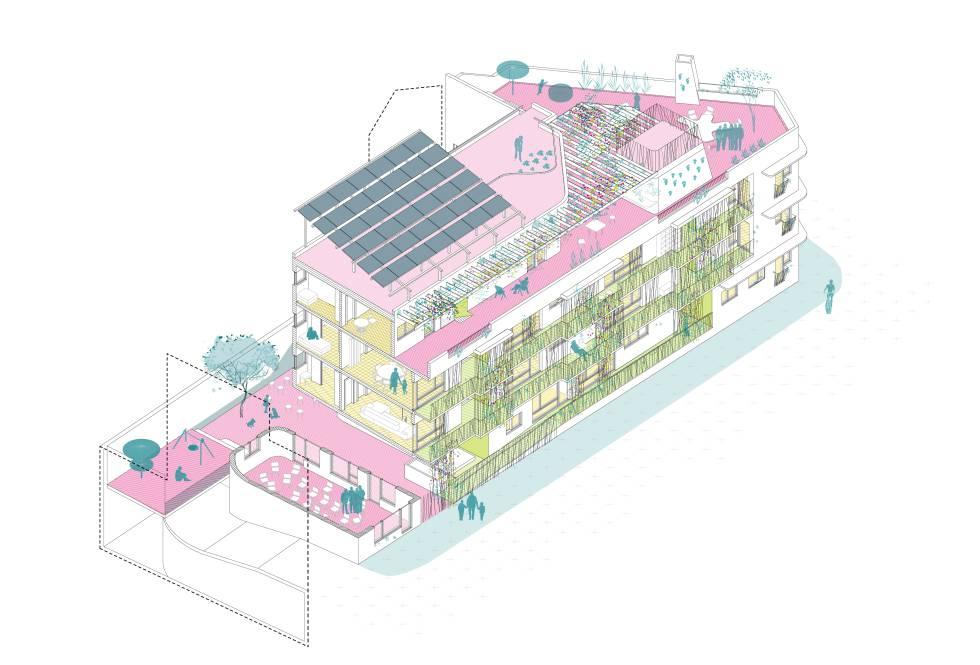 Arquitectura para la mitigación del cambio climático