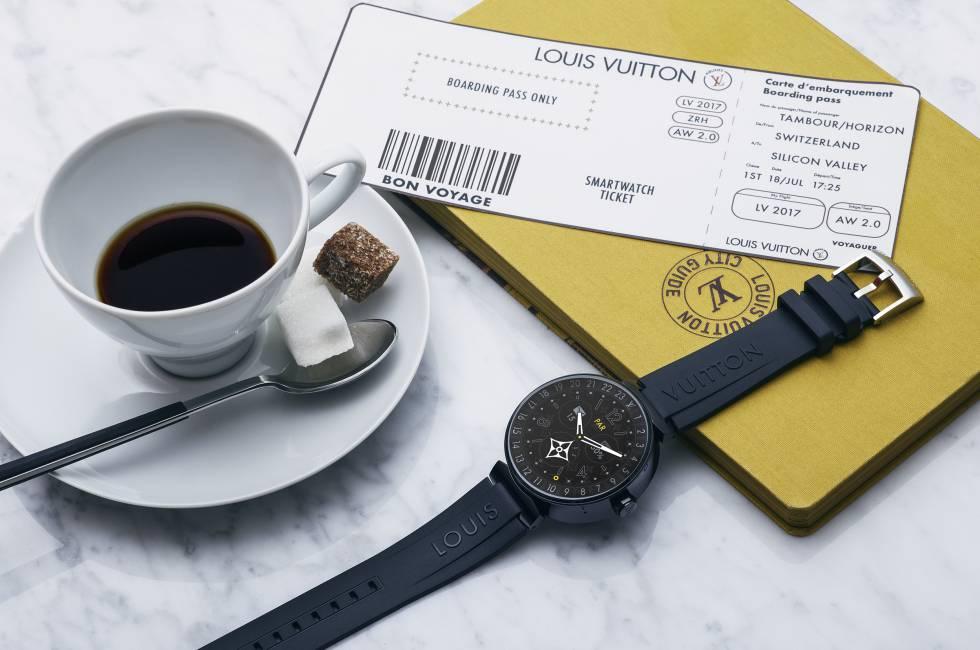 60ae83ba7 Louis Vuitton y Google se alían para reinventar la relojería ...