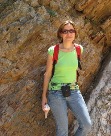 la científica Laia Alegret, la española que participa en la expedición a Zealandia.