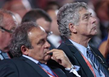 Spain's Ángel María Villar to take over suspended Platini's duties at Uefa