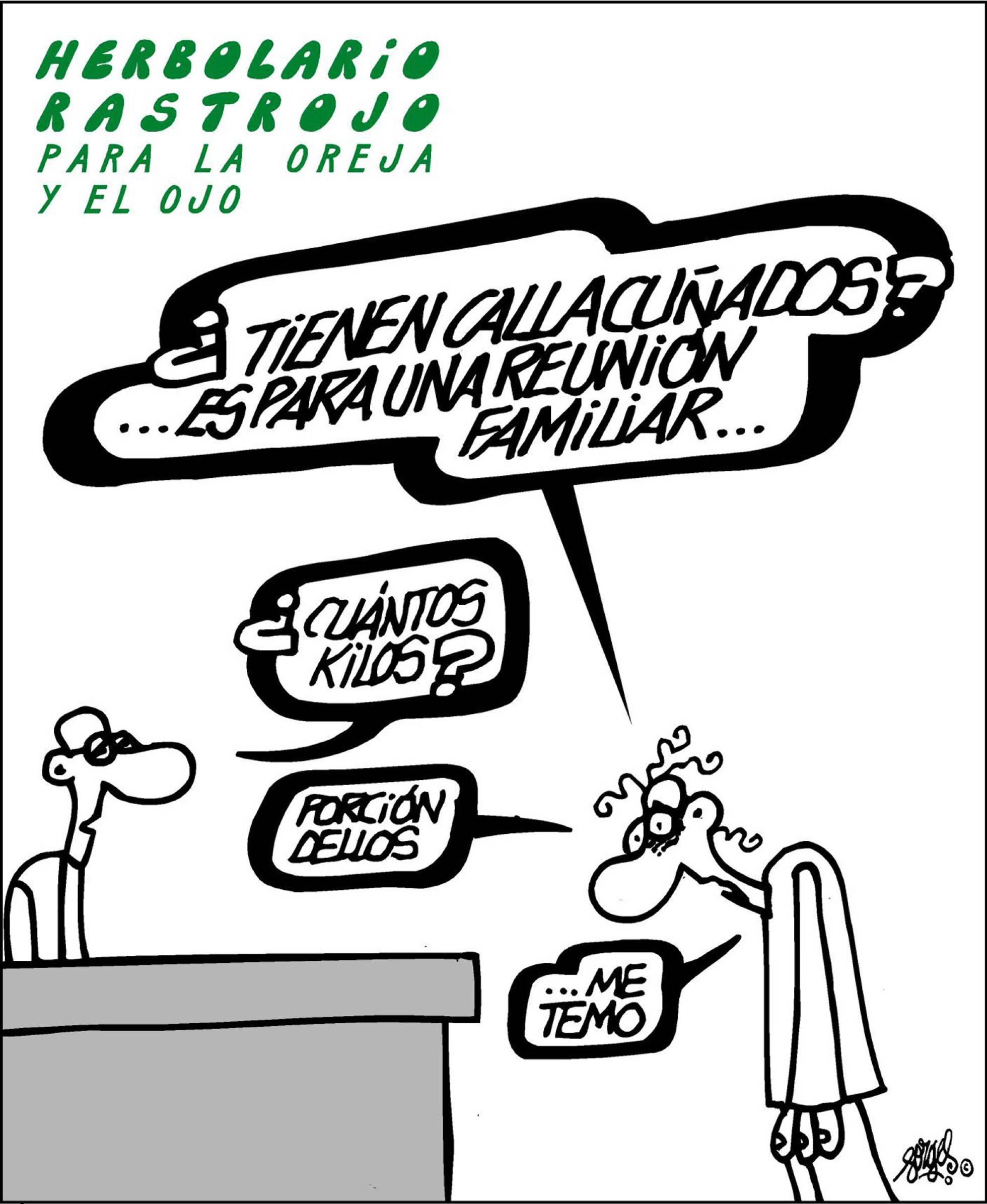 Forges: Comprando Callacuñados -- El País 20/07/2017