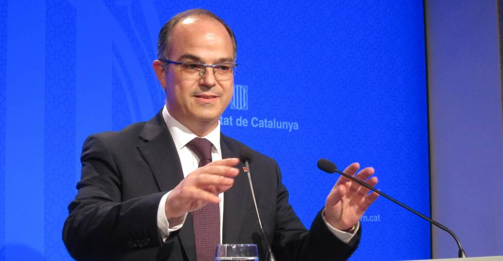 Jordi Turull, consejero de la presidencia de la Generalitat