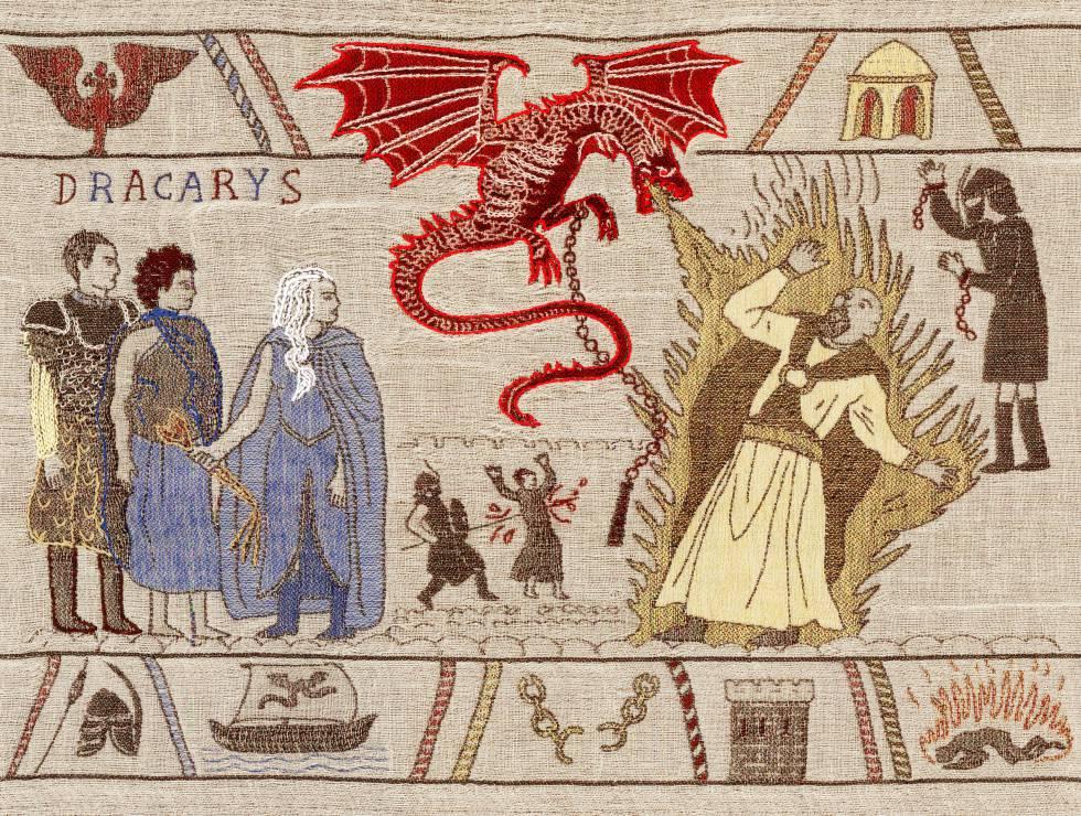 El tapiz de Bayeux, en versión 'Juego de Tronos'
