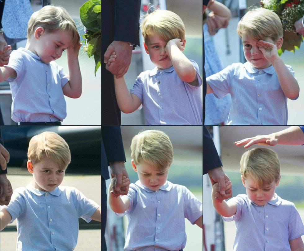 a54603c3e El príncipe Jorge de Cambridge cumple cuatro años