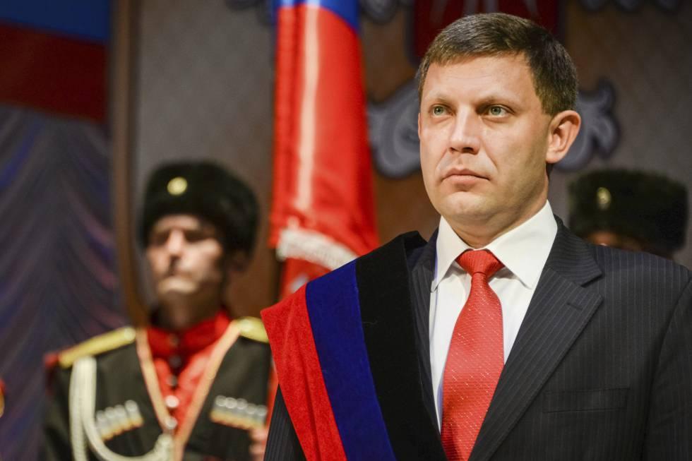 El líder separatista de Donetsk, Alexander Zakharchenko.