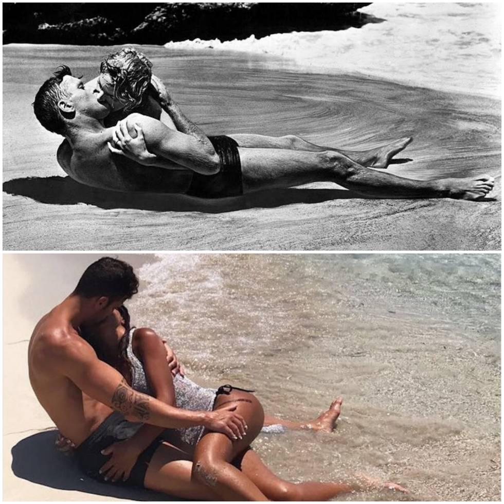 Ocho fotos en las que Fàbregas y su pareja dejan claro que la naturalidad está sobrevalorada