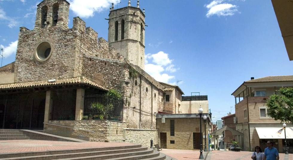 Iglesia del municipio barcelonés de Santa Perpetua de Moguda