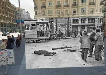 The Spanish Civil War and Google Street View