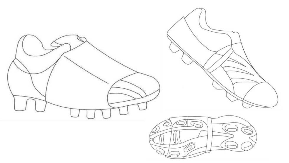 El 'cubre botas' de fútbol que evita que se desaten los cordones
