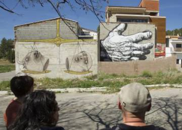 How a tiny Castellón village became Spain's street art capital