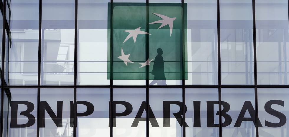 Sede de BNP Paribas en Issy-les-Moulineaux, cerca de París