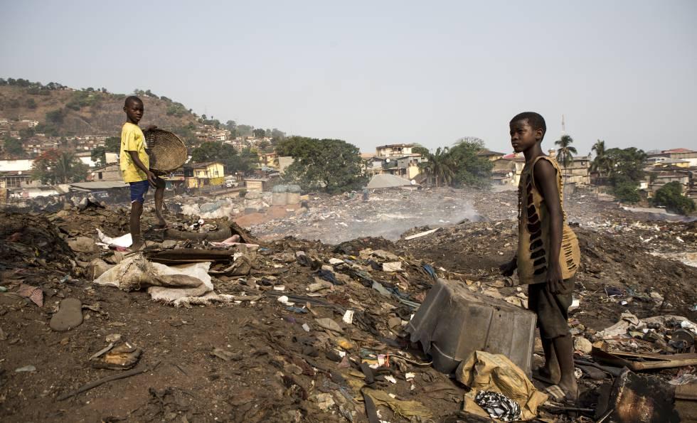 Una infancia en 'la gran basura'