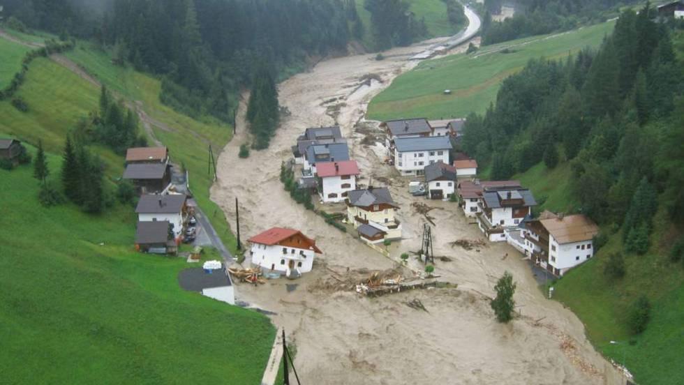 El cambio climático ha alterado la crecida de los ríos