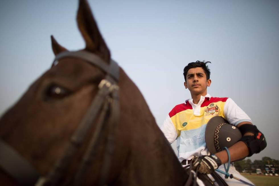 Pacho, mahararajá de Jaipur, en una imagen que aparece en el Instagram de la marca de moda British Polo Day.