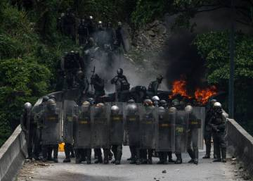 Venezuela's defense minister admits use of excessive force at protests